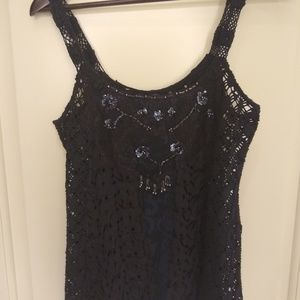 Fun black free people tank